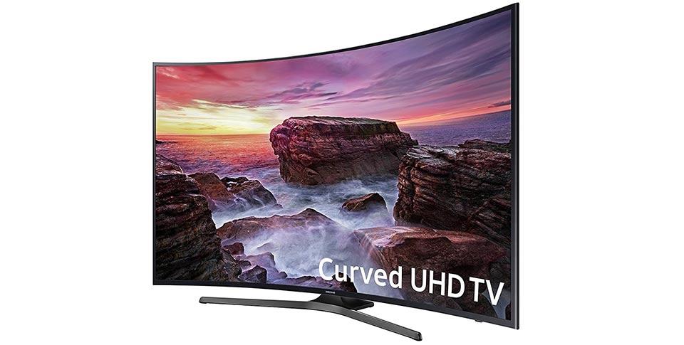 تلویزیون منحنی سامسونگ سایز 55 اینچ