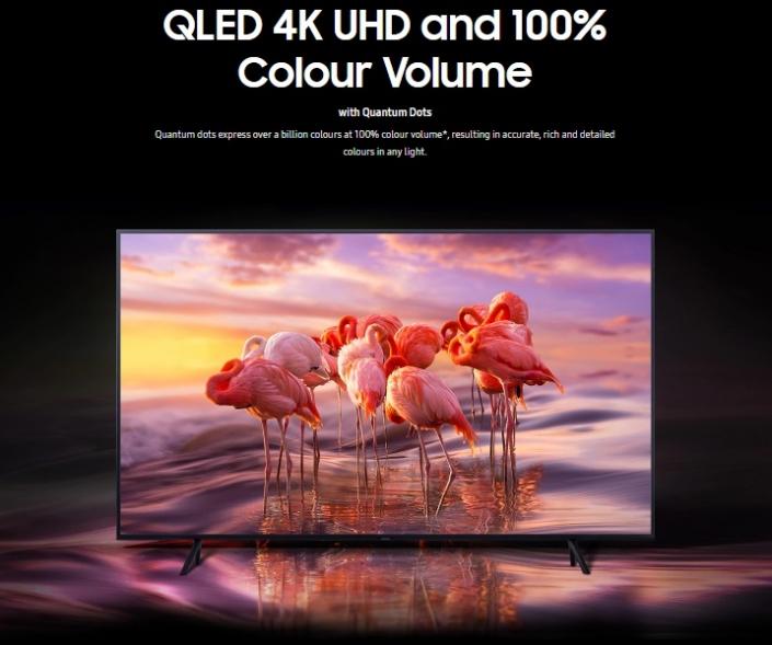 قیمت تلویزیون ۵۵ اینچ QLED سامسونگ مدل ۵۵Q70R در بانه