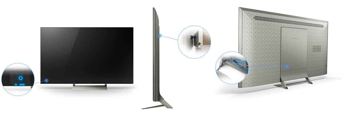 خرید تلویزیون 4k هوشمند سونی مدل 55X9300E از بانه